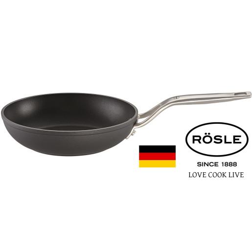 "RÖSLE Set Tigai Profesionale Neaderente ""Raise"" 28cm+24cm+20cm, Inductie"