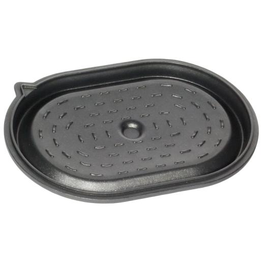 """CAPAC pentru Cratita """"La Cocotte"""" cu scurgere lichide si functie de recirculare, 9mm grosime, AMT Gastroguss (prod. Germania), 32x22cm"""