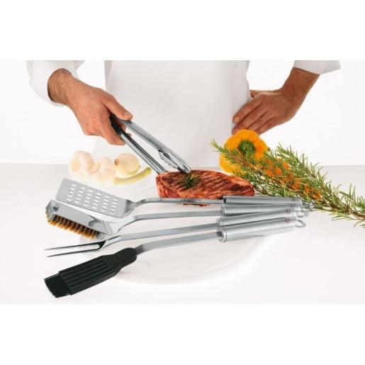 RÖSLE Perie pentru curatare Grill, Otel Inoxidabil 18/10, 46.5 cm