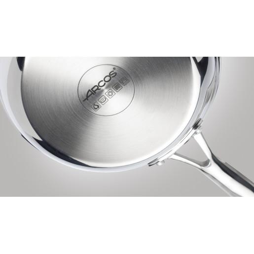 "Tigaie Inox 10 ANI GARANTIE, inclusiv INDUCTIE, ARCOS ""FORZA"", 20cm"