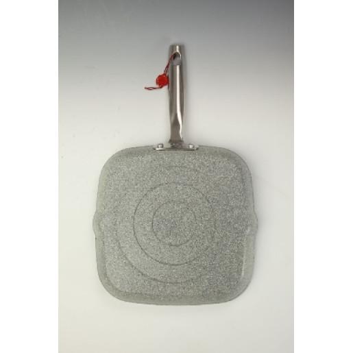 "Tigaie GRILL NEADERENTA (fara PFOA) BALLARINI ""Portofino"" 10 ani Garantie, 28cm, inclusiv INDUCTIE"