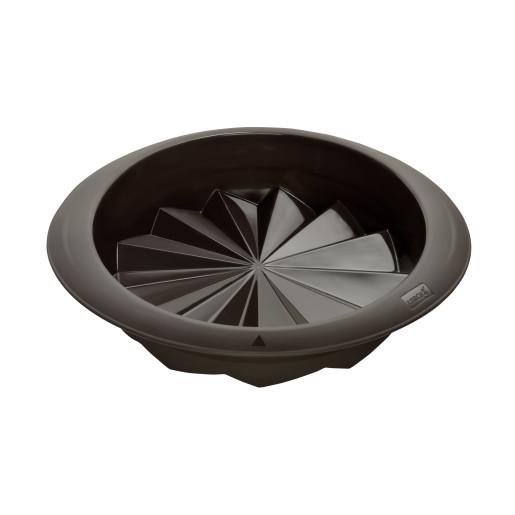 "LURCH FLEXI-FORM: FORMA DE COPT din Silicon ""Platinum"" pentru TORT, 24cm"