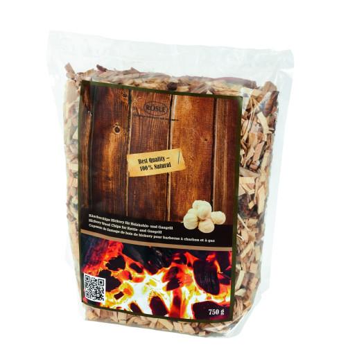 RÖSLE Chipsuri pentru Afumare, Lemn de Hickory, 100% natural, netratat