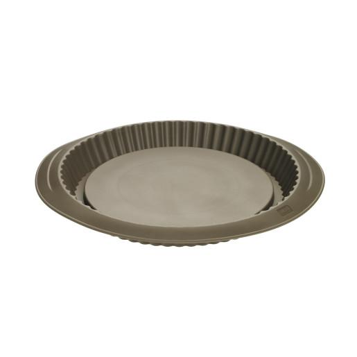 """LURCH FLEXI-FORM: TAVA DE COPT din Silicon """"Platinum"""" pentru TARTA CU FRUCTE, 28cm"""