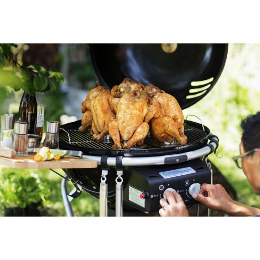 Roaster RÖSLE pentru Pui la Grill sau Cuptor cu recipient pentru Marinate, Bere sau Vin, 20 ANI GARANTIE