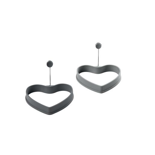 Set 2 Forme ochiuri de ou - Platinum Silicon, 13cm  LURCH (Germania)