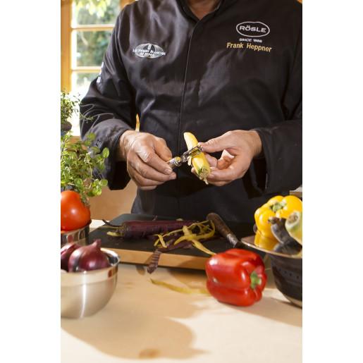 RÖSLE Decojitor pentru Legume si Fructe Ultra Sharp, Otel Inoxidabil18/10, 20 ANI GARANTIE