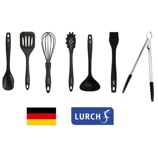 Set LURCH (Germania) 7 piese din Platinum-Silicon pentru vase neaderente