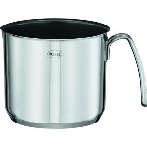 RÖSLE  Oala de Lapte Neaderenta, Otel Inoxidabil 18/10, Inductie 14cm, 1.6 litri