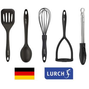 Set LURCH (Germania) 5 piese din Platinum-Silicon pentru vase neaderente