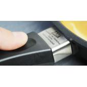 Tigaie BARBEQUE Inductie, Neaderenta, 9mm grosime, AMT Gastroguss (prod. Germania), patrata 28x28x5cm