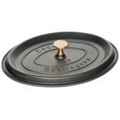 "Cratita Neaderenta ""La Cocotte"", 9mm grosime, AMT Gastroguss (prod. Germania), Ovala, 32x25x12cm, 6 litri"