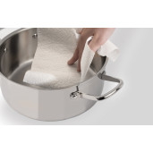 "Promotie Grill Antiaderent + Oala Inox cu Capac 24cm, 10 ANI GARANTIE, inclusiv INDUCTIE, ARCOS ""FORZA"""