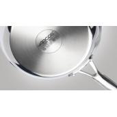 """Cratita Inox 10 ANI GARANTIE, Capac sticla termorezistenta, inclusiv INDUCTIE, ARCOS """"FORZA"""", 16cm"""