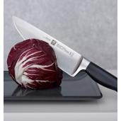 Promotie Set ZWILLING**** Vier Sterne : Cutit Santoku 180mm + Cutit de Legume si Fructe 70mm